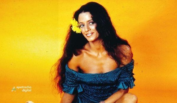 Foto da Atriz Sonia Braga como Gabriela (1975)